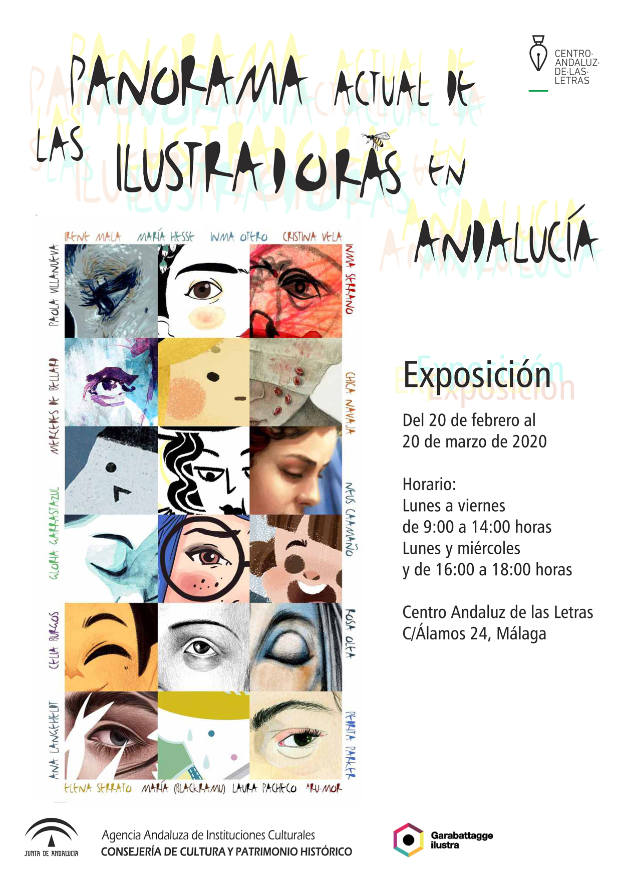 Cartel exposiciones de Panoramas.cdr